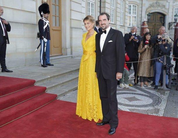 Торжественный ужин в честь 50-летия принца Йоакима в Амалиенборге. Обновляется.