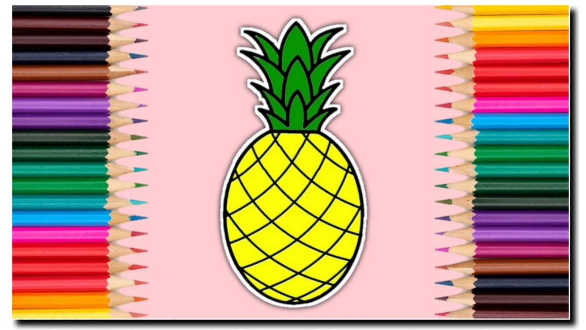 Nafis Wq On Twitter Nafis Wq Pelan Pelan Mewarnai Buah Nanas Biar Rapi Coloring Book Pineapple Games For Kids Https T Co D0hjczpzb3 Https T Co C9abrgtjcc