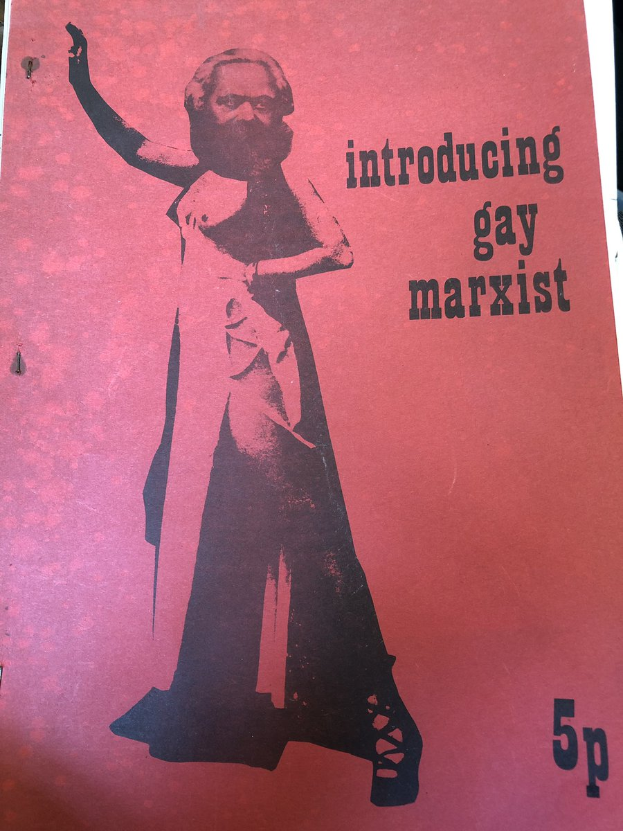 New in the archive, from the Gay Liberation Front