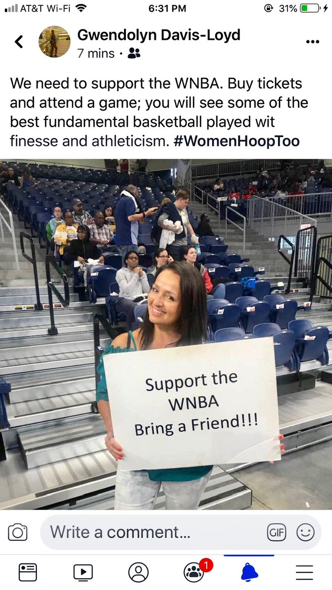 """Alert! WNBA Players! Will you please """"like"""" the @womenhooptoo page please! This page is not about stats, etc. it's about regular people knowing who you are so they can have a connection and inevitably attend a game because they want to see you and know you! Thanks!!"""