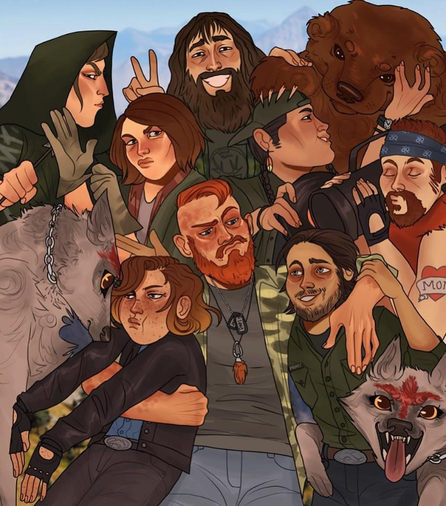 Far Cry 6 On Twitter Today S Fanartfriday By Misclae Features Familiar Faces From Far Cry 5 Which Character Is Your Favorite