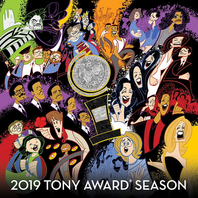 Surprise! The 2019 #TonyAwards Season Album has dropped on iTunes! Songs from ALL of the 2018-19 Tony-eligible shows, plus bonus track from #MarinMazzie.  https:// geo.itunes.apple.com/us/album/2019- tony-award-season/1466273335?app=itunes&at=11l5Gg  …   CDs coming soon. @BwayRecords<br>http://pic.twitter.com/8KamZ96XC9
