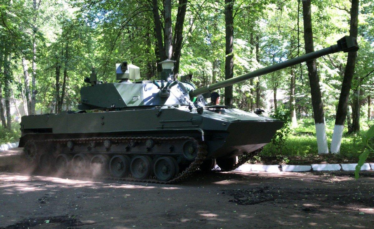 الكشف عن اولى صور لمنظومه المدفعيه 2S42 'Lotos'  الروسيه المحموله جوا  D8eKg1jX4AEiZo9