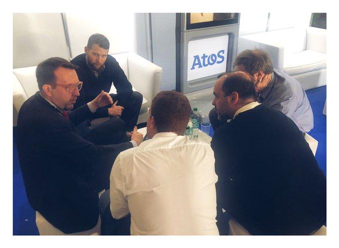 📍En vivo desde la @cumbre_global en @TecnopolisArg nuestro equipo de innovación está trabaj...