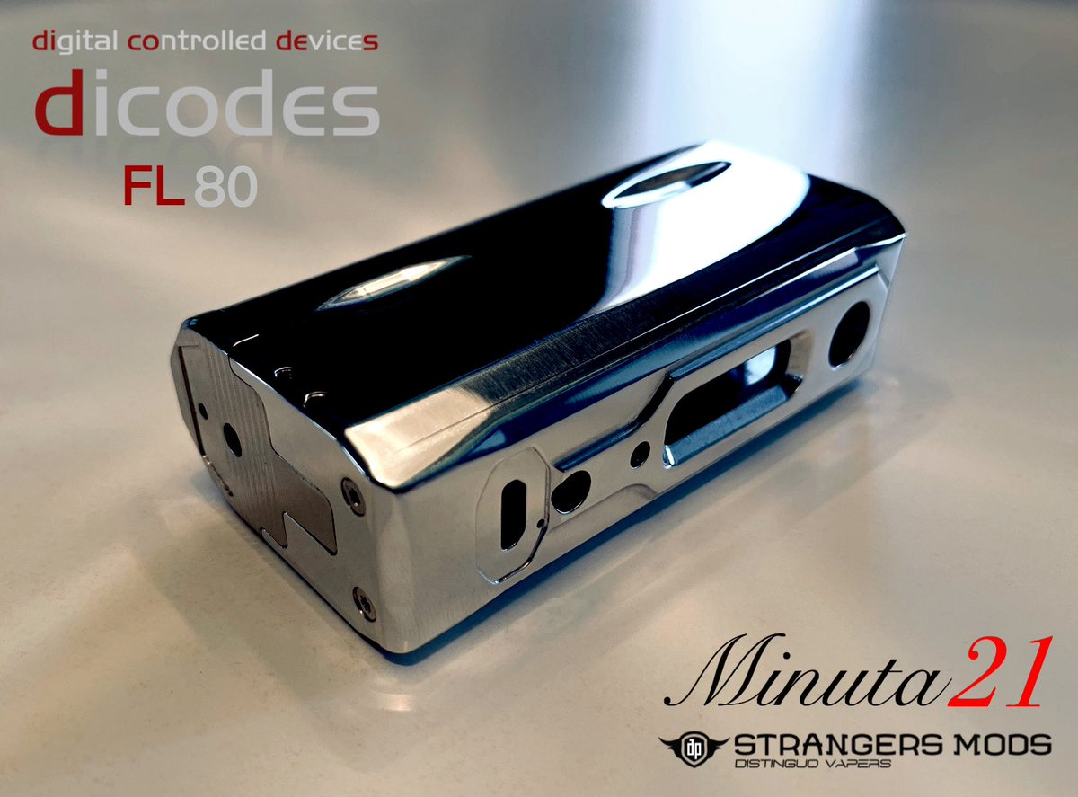 NEW MINUTA21 by STRANGERS MODS 21700 / dicodes FL80 / DNA75C Tweet