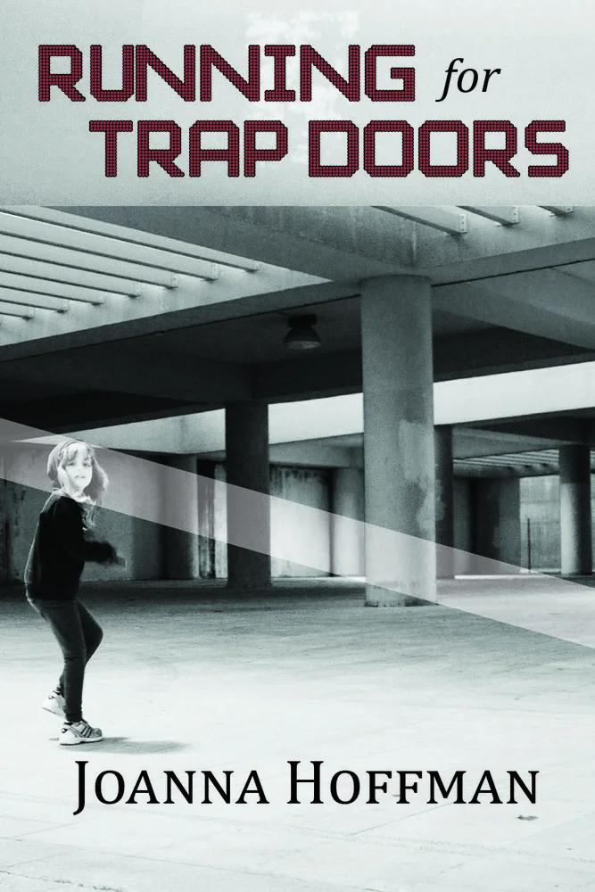 MINI INTERVIEW: @Joanna_Hoffmans *RUNNING FOR TRAP DOORS* is a book of angst, self-discovery, and clearing out a path to walk down. Joanna says, Id love for my book to be read by young queer kids who want to feel less alone.