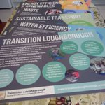 Excited today to pick up new posters we've had designed for @TransitionLboro Tomorrow our Fantastic Home exhibition will be offering energy efficiency and domestic renewables advice at Loughborough's Picnic in the Park thanks to a grant from @CharnwoodBC. @CharnwoodArts