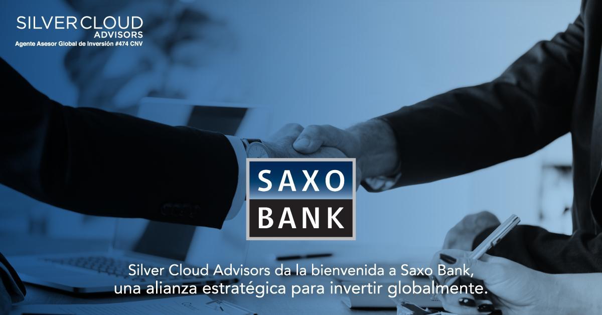 @SilverCloudAdv comunica su alianza con @SaxoBank, el banco de Dinamarca que acerca a nuestros clientes los productos financieros de todo el mundo. Conocé todas las oportunidades de inversión con nosotros. #SilverCloudAdvisors #SaxoBank