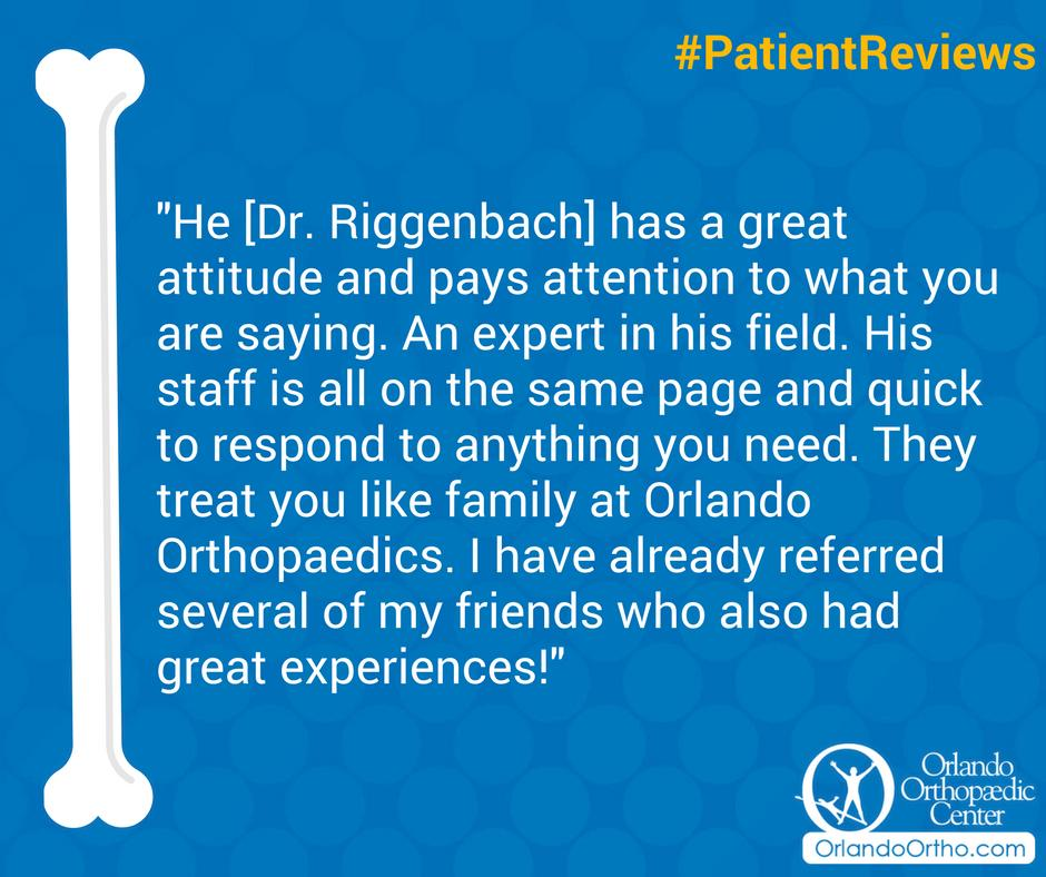 Thank you for sharing! #PatientReviews