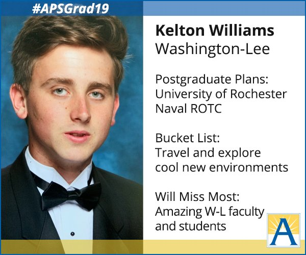 """RT <a target='_blank' href='http://twitter.com/APSVirginia'>@APSVirginia</a>: """"I am most looking forward to having the freedom to study whatever I want in college."""" <a target='_blank' href='http://search.twitter.com/search?q=APSGrad19'><a target='_blank' href='https://twitter.com/hashtag/APSGrad19?src=hash'>#APSGrad19</a></a> <a target='_blank' href='https://t.co/IeNlhgoAJ5'>https://t.co/IeNlhgoAJ5</a>"""