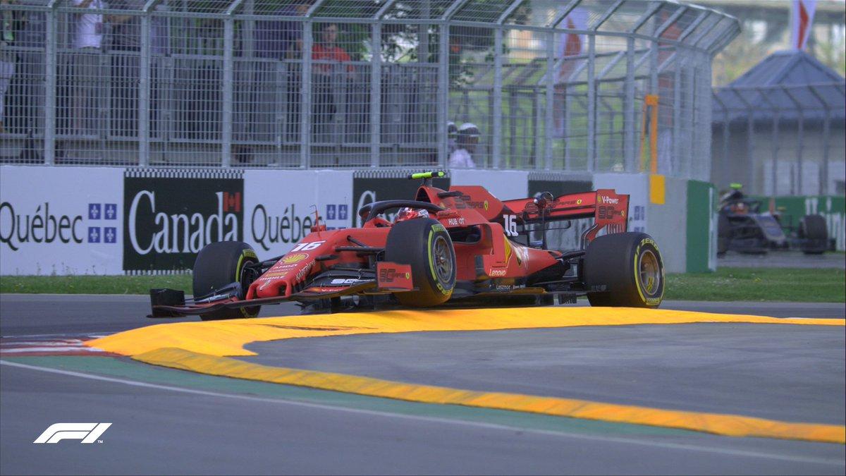 Leclerc se sube por ...