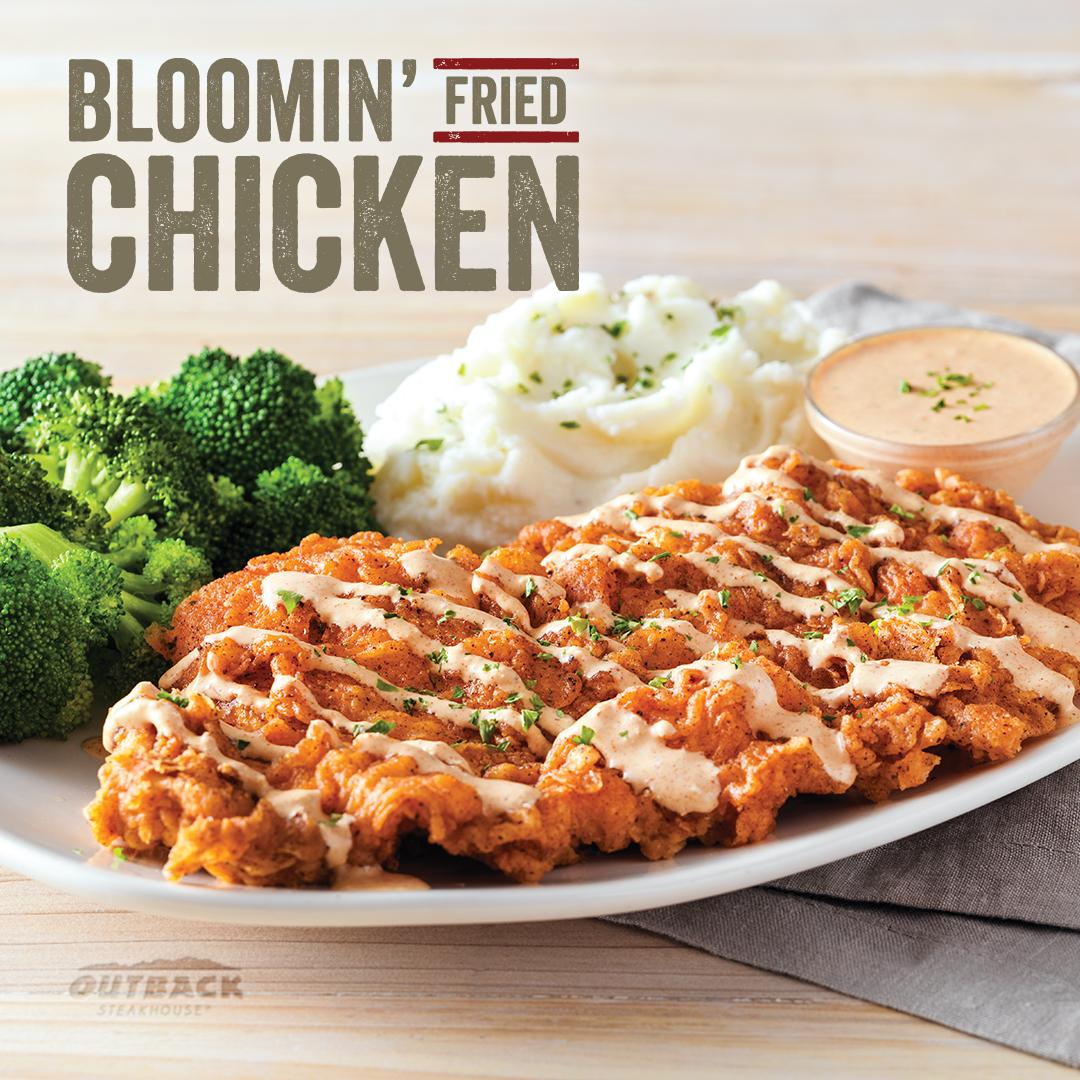 Outback Steakhouse Chef Created Flavor Inspired The New Bloomin Fried Chicken You Need This