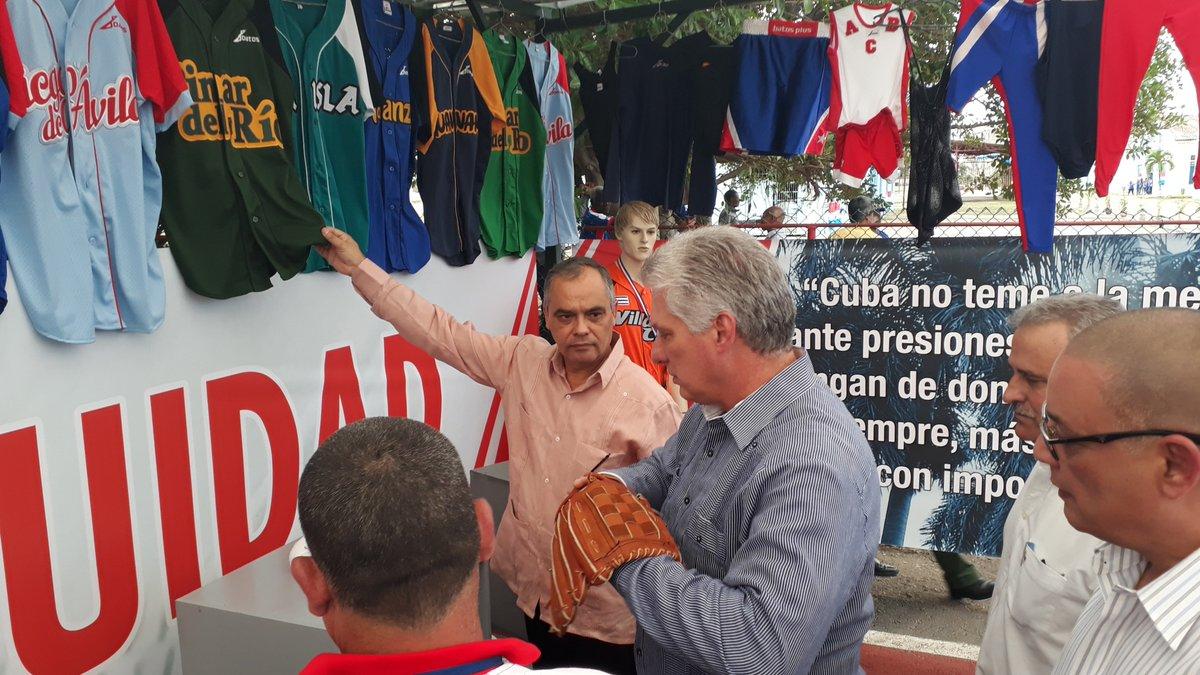 Recorre Díaz-Canel Empresa Deportiva BATOS