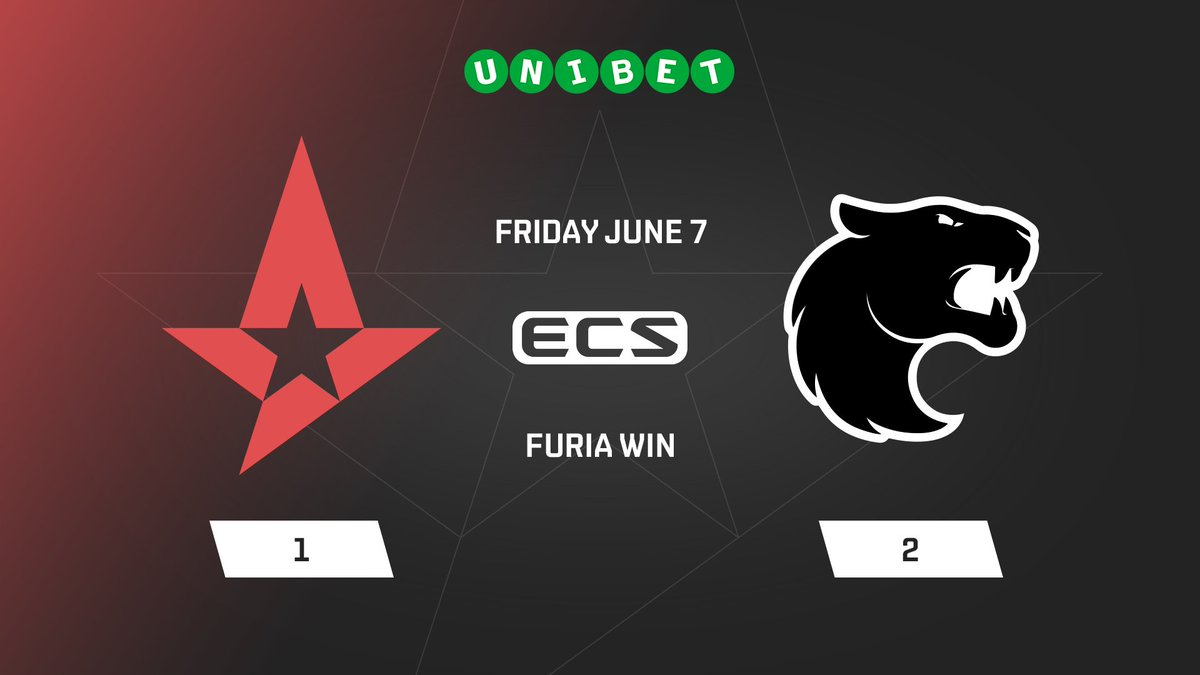 We are out of the #ECS7 Finals after losing 1-2 to FURIA Esports.  This was not what we were hoping for and the result is below our expectations.  We want to say sorry for the fans who expected to see us play in the arena. We will still be at the signing session. See you then!