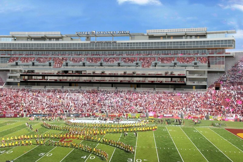 Usc Trojans On Twitter Official United Airlines Field At