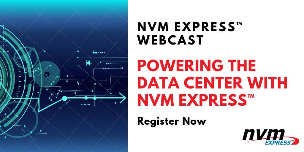 NVM Express, Inc  on Twitter: