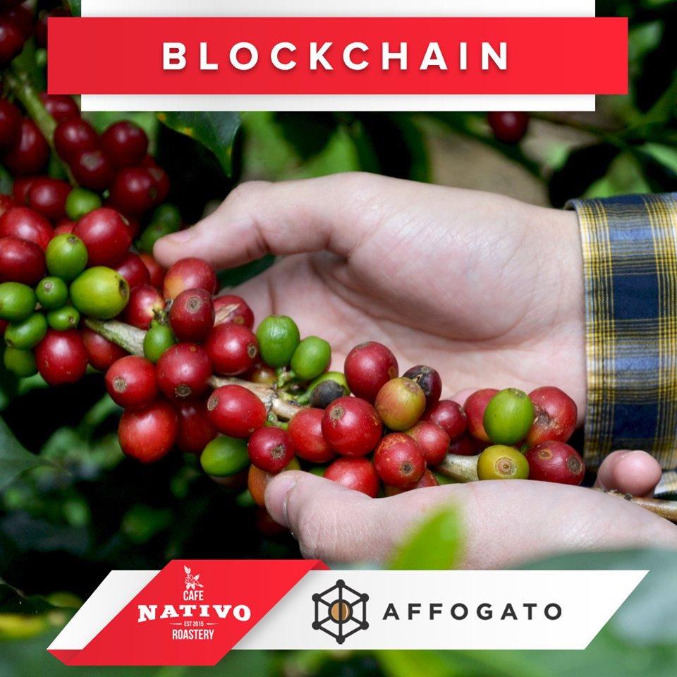 Para todos los que nos acompañarán mañana en #CafeFest... tendran la oportunidad de conocer como através de la Plataforma de Blockchain de Affogato podrán apoyar a los productores de los cafés que Nativo estará sirviendo 😀  #specialtycoffee #ExperienciaNativo #hechoenhonduras