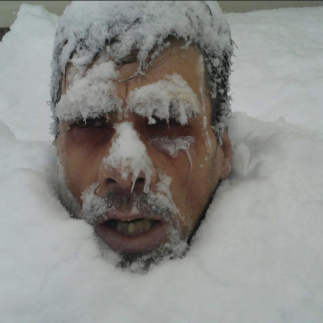 фото замерзших людей многие