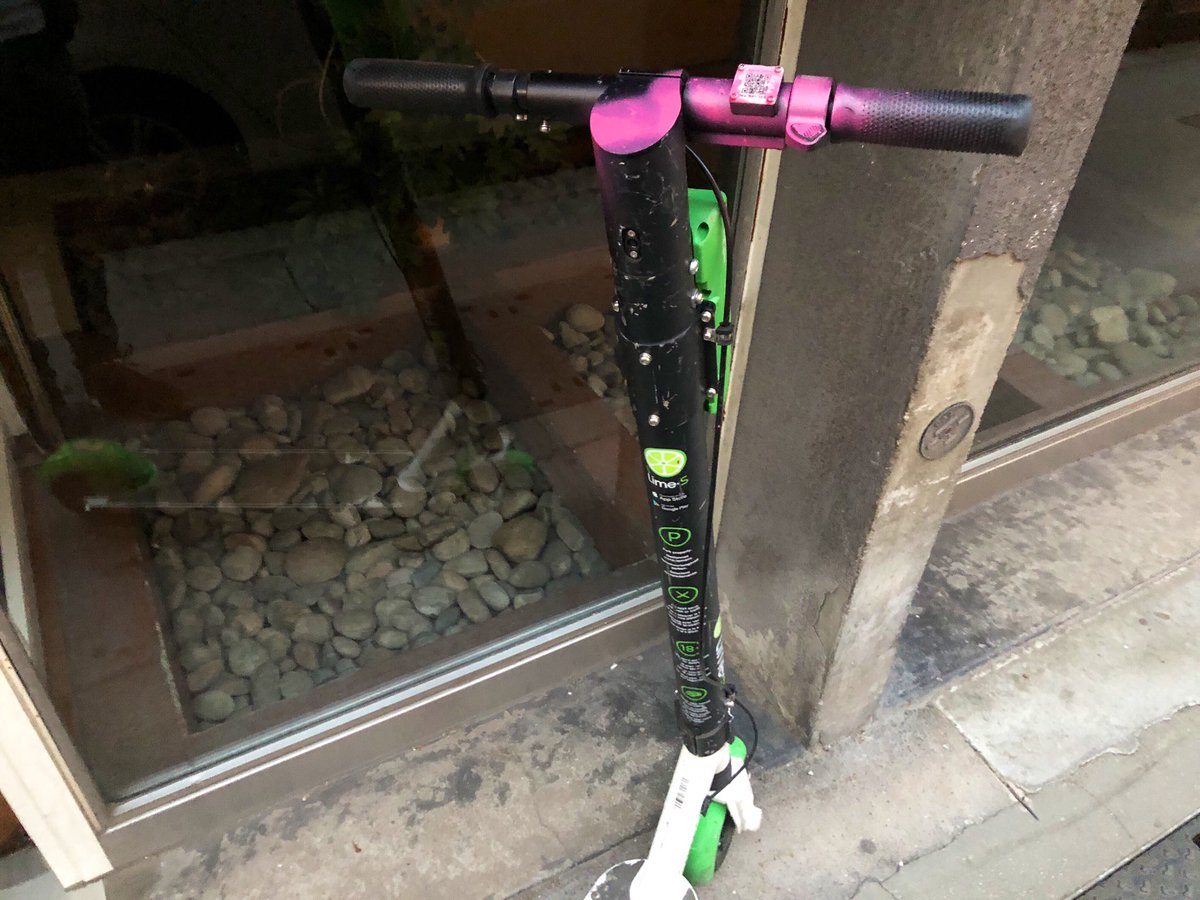 Electric scooters in Lyon vandalised by opponents