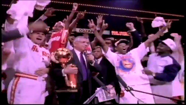 Today in 1994, we won our first championship! 🏆 #ClutchCity