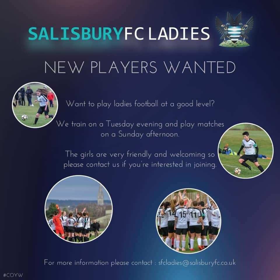 Salisbury FC Ladies (@SalisburyFcL) | Twitter