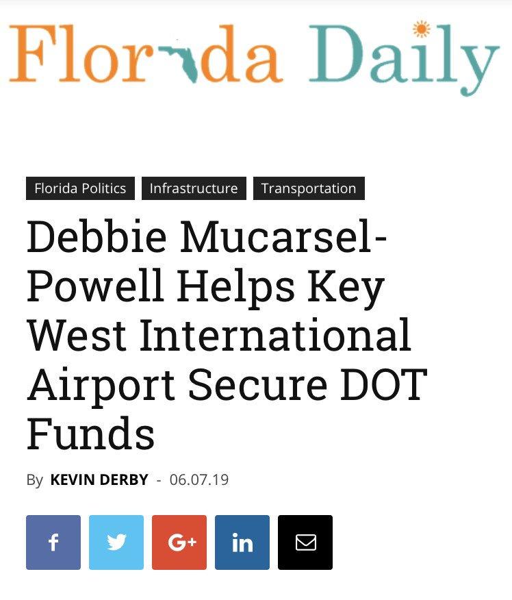 .@FL_Daily #FL26 #keywest floridadaily.com/debbie-mucarse…
