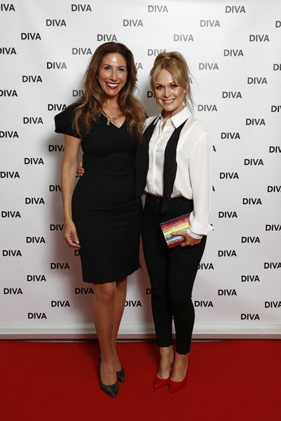 What an incredible night @DIVAmagazine awards. So much love in the room. Standing up for diversity 🌈  & huge Congrats to all the winners especially the beautiful @ChelleHardwick 💗