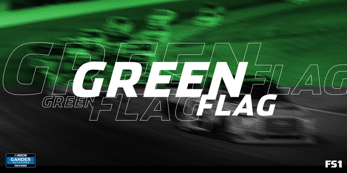 Nascar Gander Trucks On Twitter Green Flag The Green Has Dropped And We Re Underway Fs1 Https T Co Kd5eqksswe Mrnradio Txmotorspeedway Speedycash400 Thetrip Https T Co Ziydnkrtly