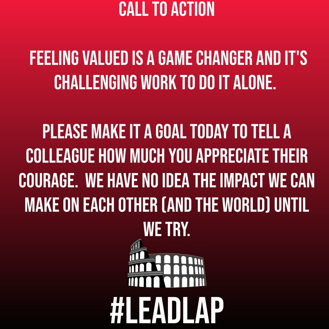 Time for a Call to ACTION! #LeadLAP