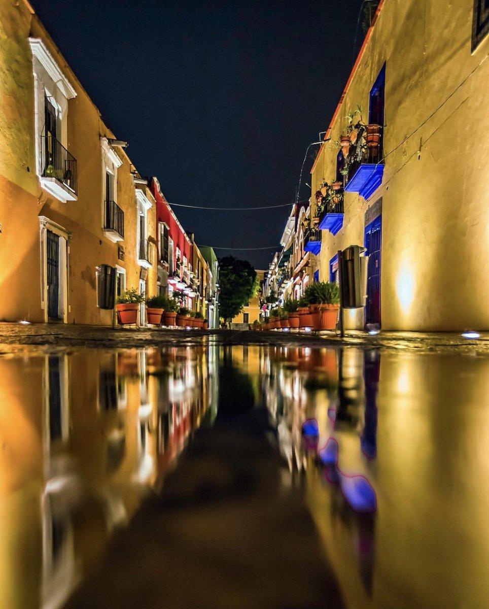 Barrio de los Sapos de noche