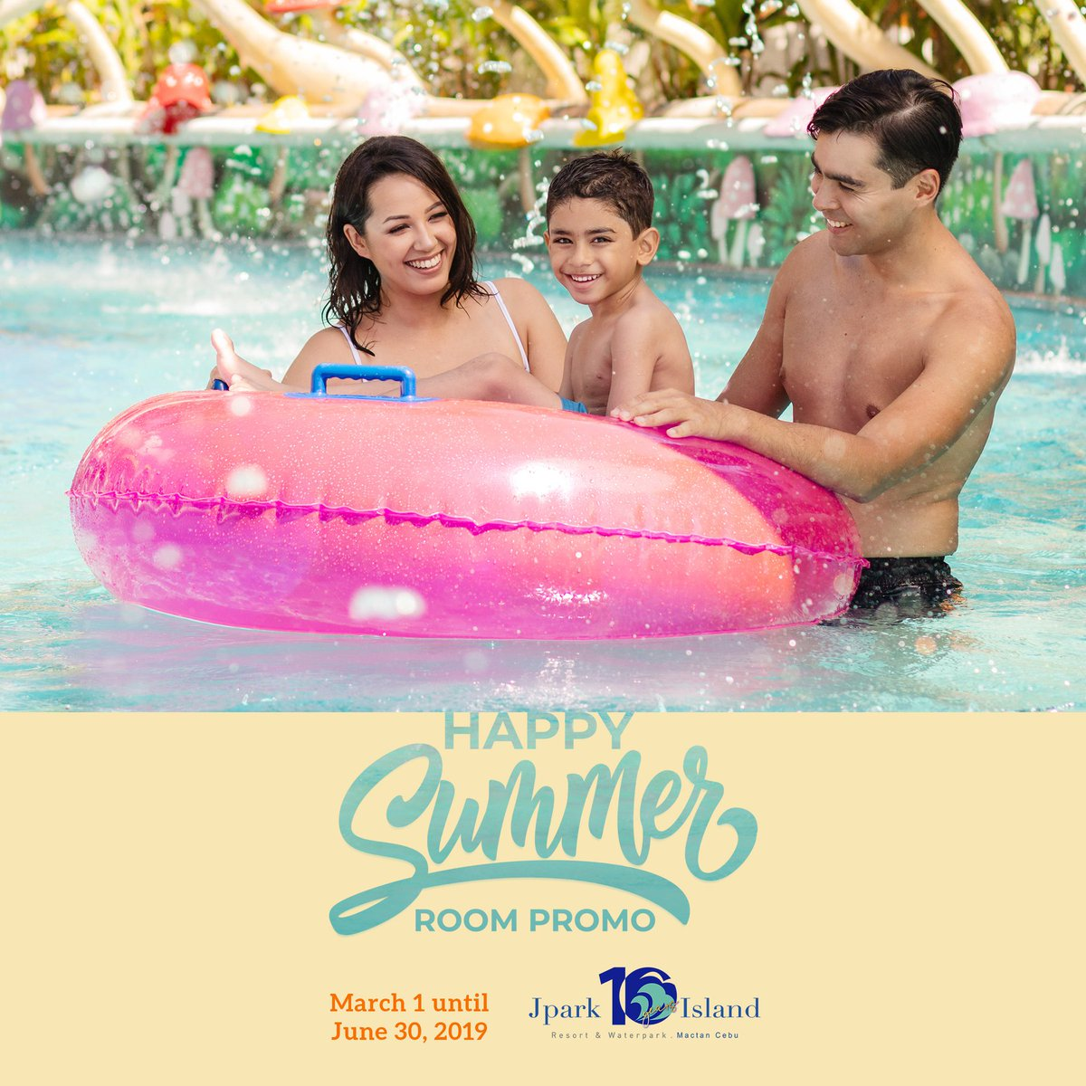 Our breakfast buffet, hotel gym, water park facilities, and more will surely make your summer the happiest one yet! Book now! Promo code SUMMER to avail of our discounted rates!  Click here to know more: https://t.co/atg2VLnEHd #MyJparkStory #WaterYouWaitingFor  #TenYearsOfJpark https://t.co/BSkiPALMZg