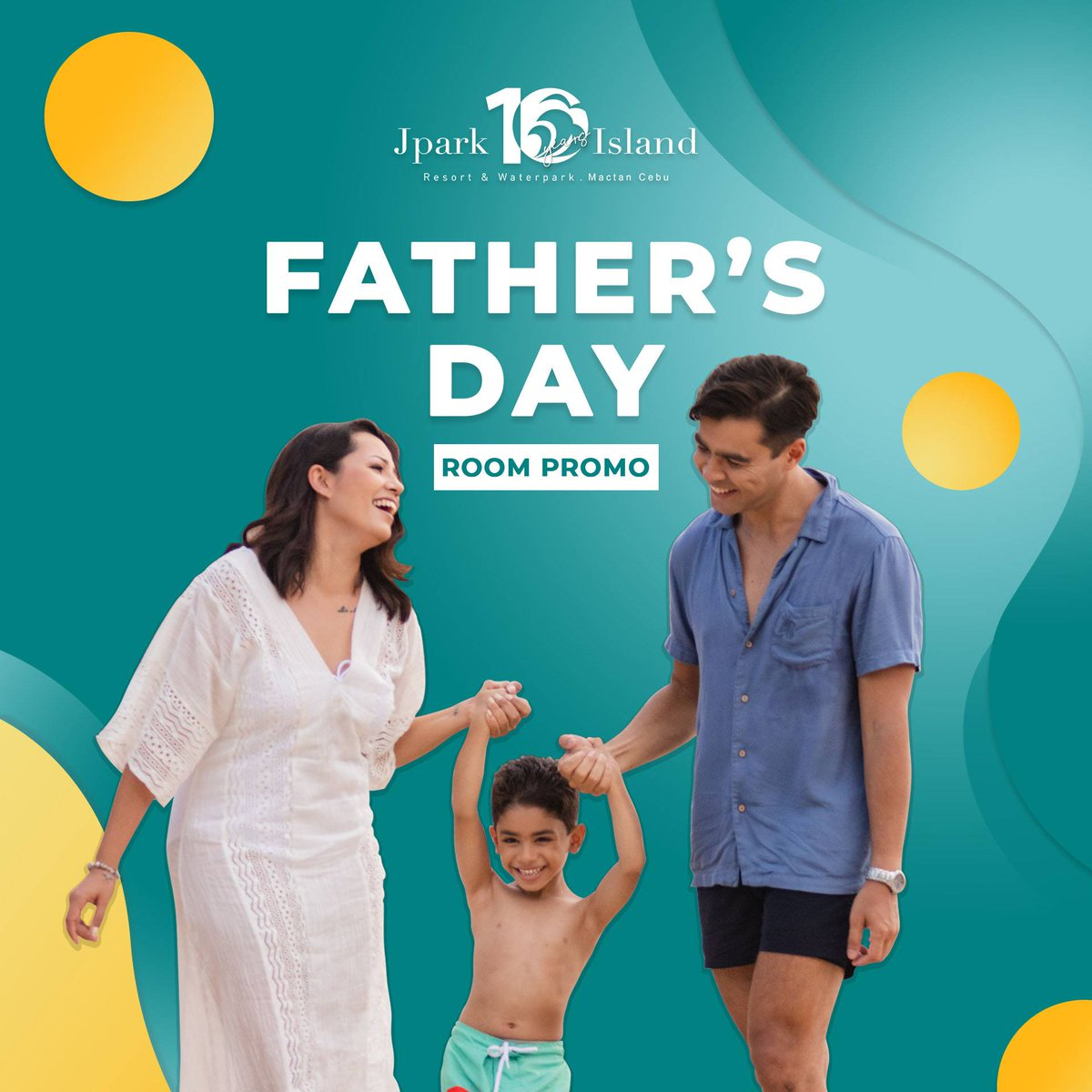 Celebrate your dad because he is certainly the best! Give him the ultimate staycation with our room discounts for Father's Day. Booking period: June 03-30, 2019 Stay period: June 10 - 30, 2019 For more info, click here: https://t.co/i0HHNHyeGS #MyJparkStory #WaterYouWaitingFor https://t.co/qYZfcQYUX8