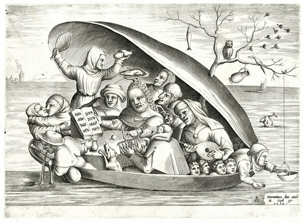 Why not. 🤔😅  https://buff.ly/2WWBCC8   See this print now on display in the exhibition 'Prints in the Age of Bruegel' until 23 June.   #lastchance #expoBruegel #theageofbruegel #prints #bozar