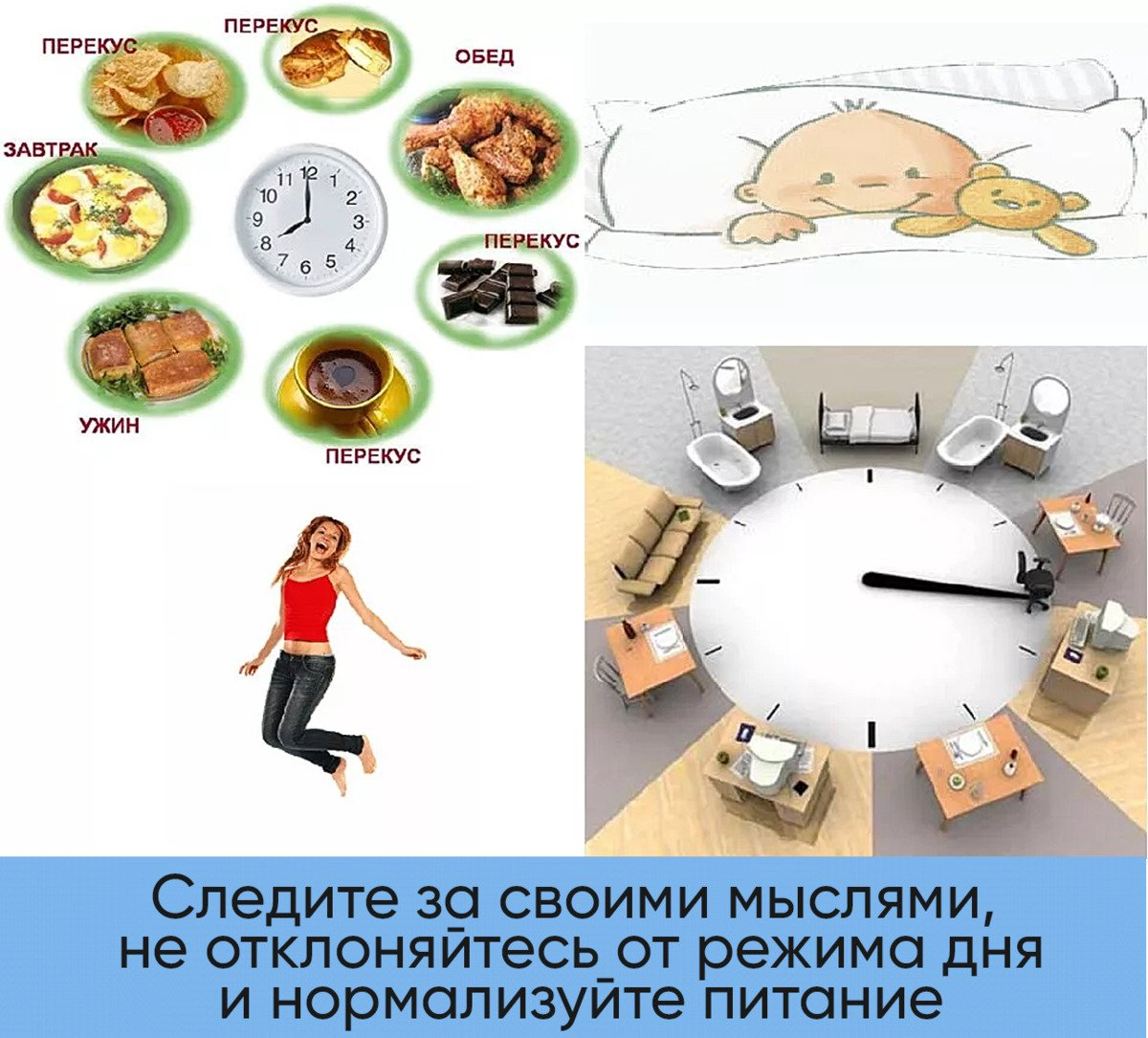 Время ужина для похудения