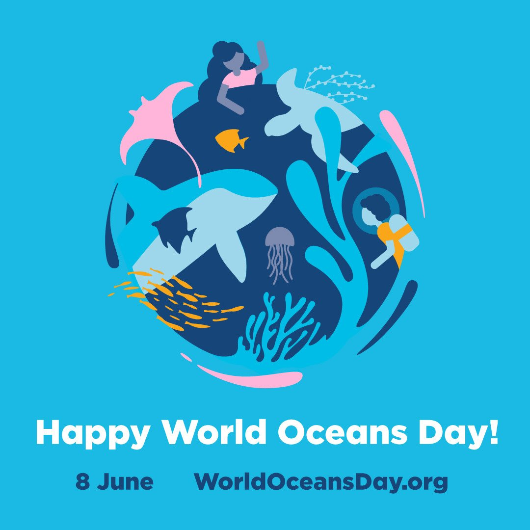 #WorldOceansDay is a global celebration of the ocean, encouraging people to start creating a better future!  Here at Bio-D we make sure that none of our waste ends up in the ocean by producing 100% recyclable packaging.  Will you be taking part in this year's World Oceans Day?