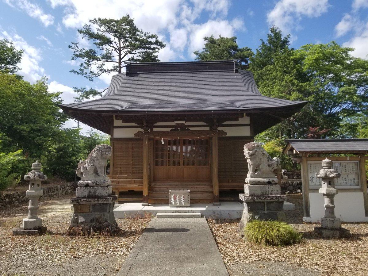 """じゅんぼう on Twitter: """"甲斐 秋山光朝館(熊野神社)なう… """""""