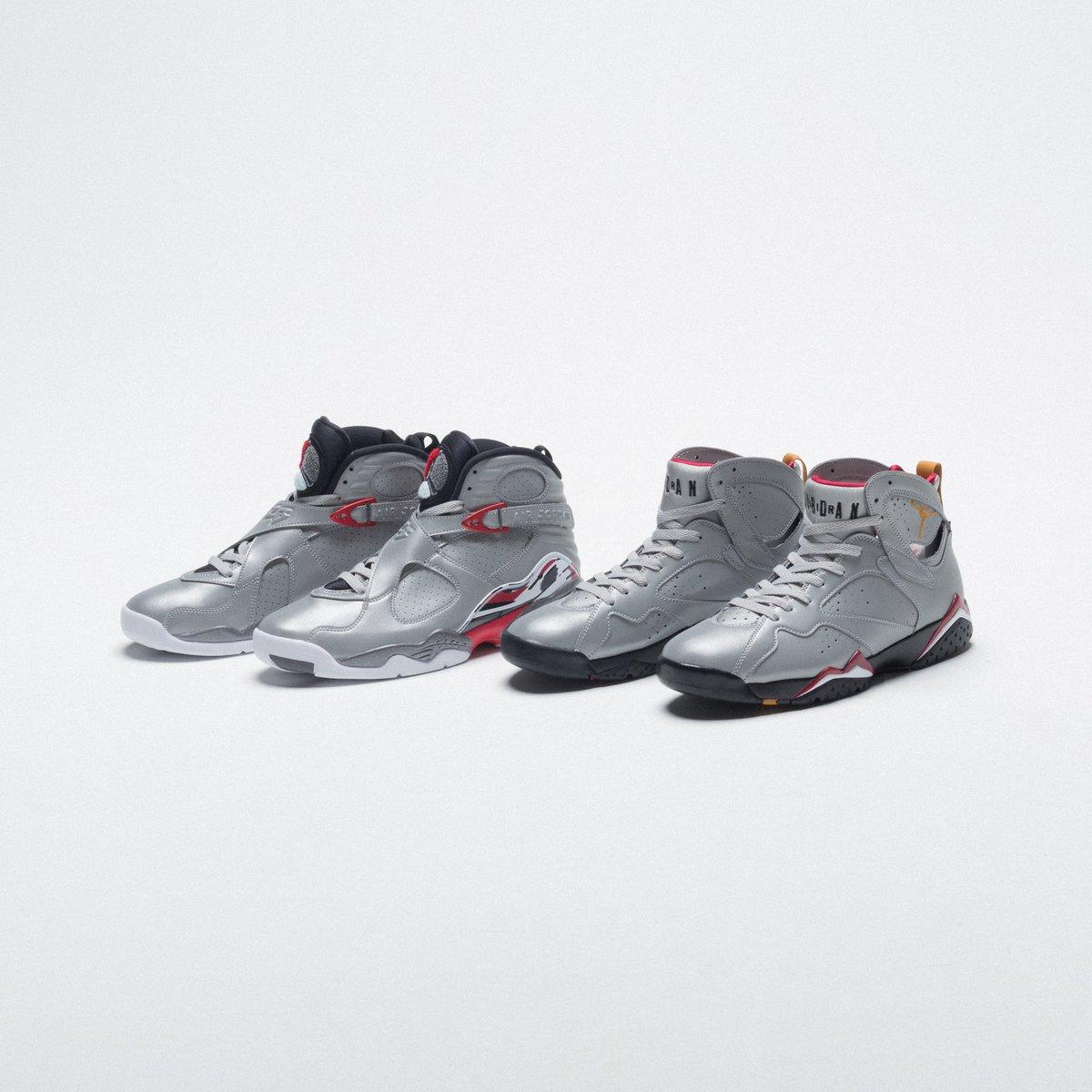 2c0d12f97b Air Jordan 7 and Air Jordan 8