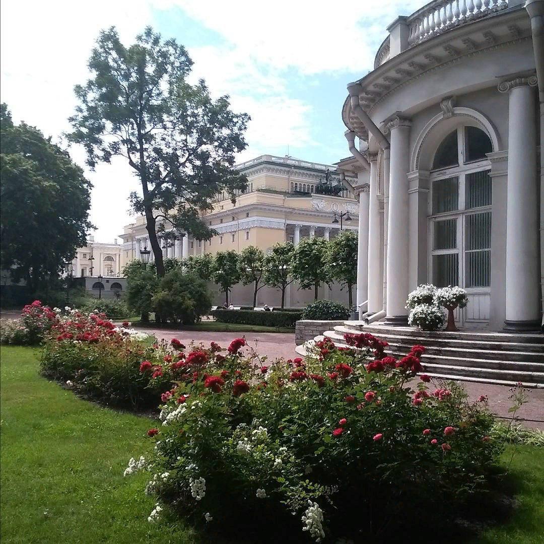 сад аничкова дворца фото один очевидный