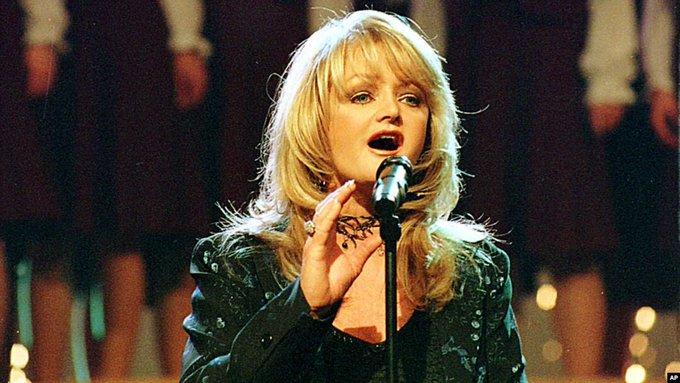 Happy Birthday Bonnie Tyler, she s 68 today!  Photo: AP
