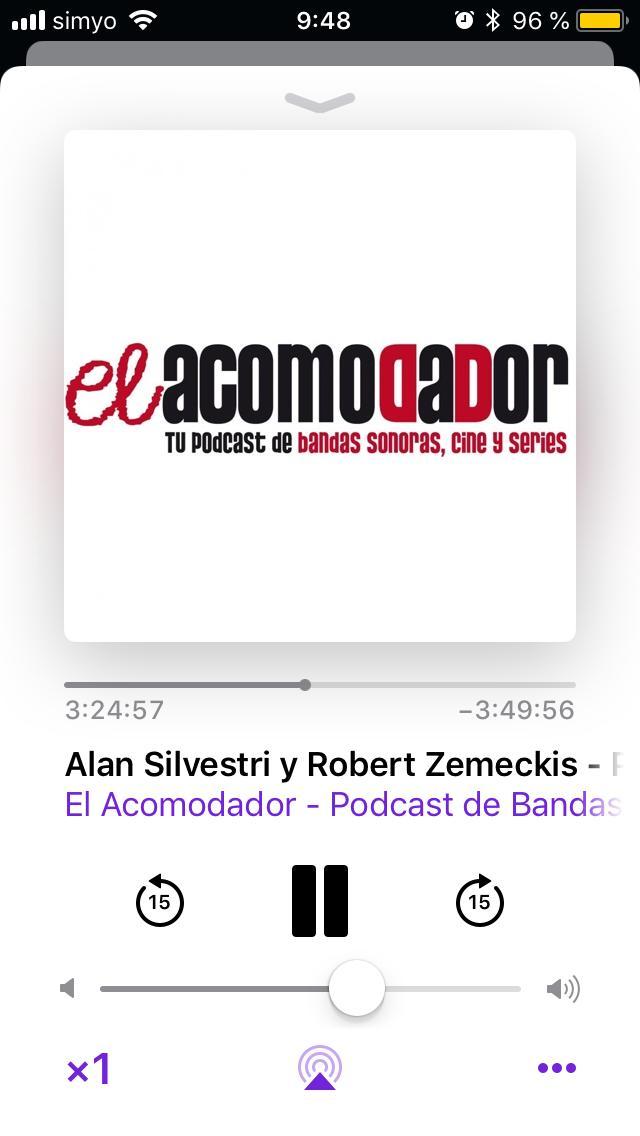 En este momento exacto @AcomodadorEl me ha puesto rucho perdido 🤣 como disfrutaba de pequeño, para quien no sepa de que hablo, que escuche el #podcast 😎