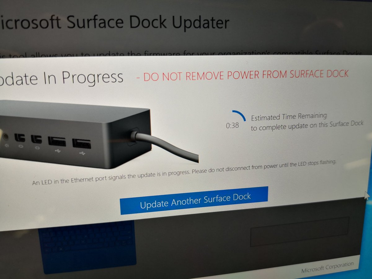 Surface 2 Dock Updater
