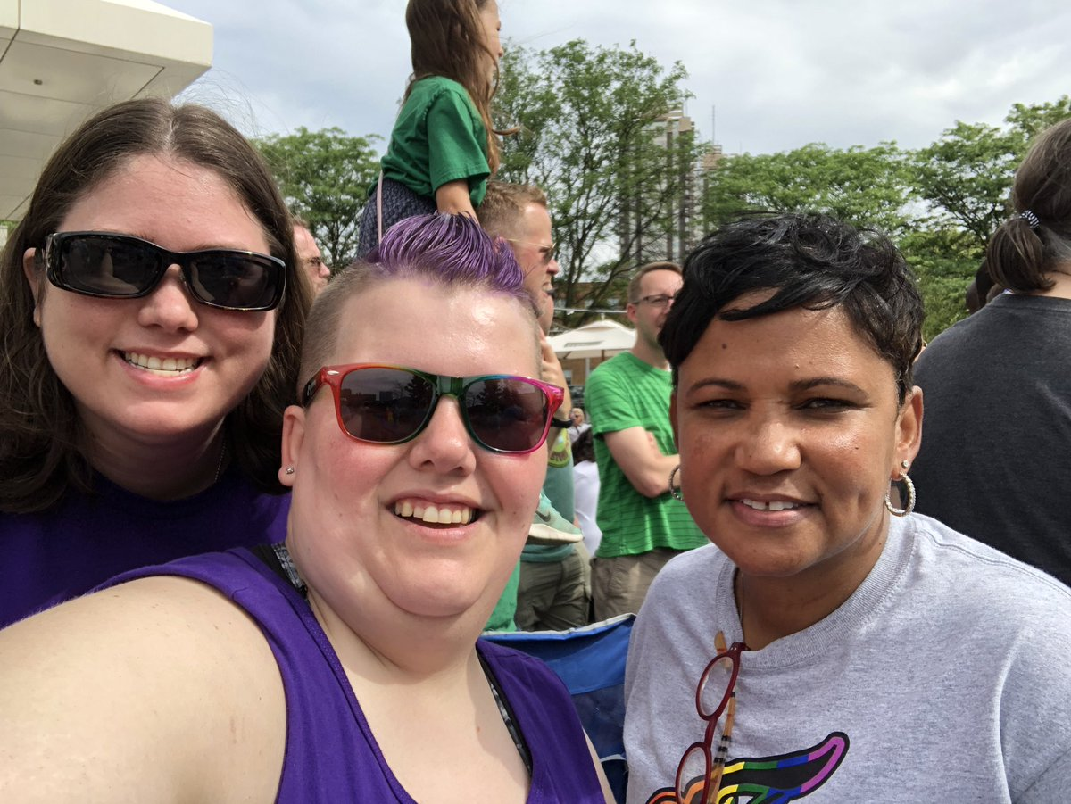 How do you make the pride parade even better? Add the @IndianaFever @pokeychatman @Bevilaqua41 @EWeezy_For3eezy