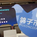 Image for the Tweet beginning: #Pigeoncoin comes to #Bangkok to