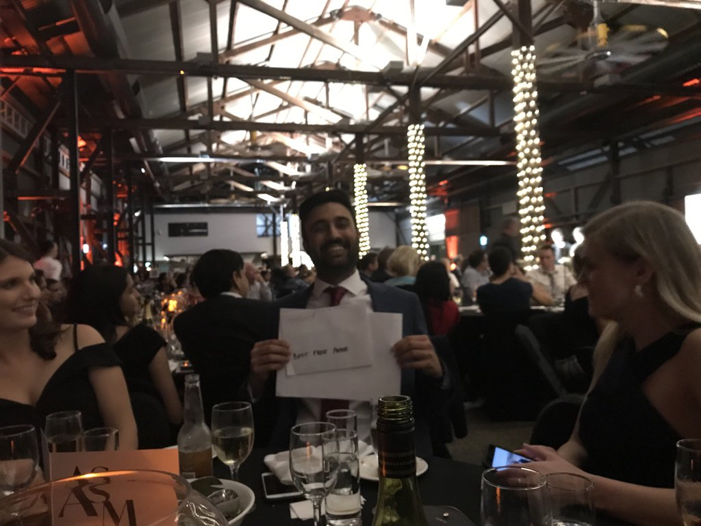 Congratulations to Sandeep Rahkra, @AlfredHealth @intensiveblog ICU/anaesthetic registrar, winner of the award for best free paper (for the ATLANTIC study of anti Xa levels in trauma patients) at the @CICMANZ graduation dinner. #CICM2019ASM <br>http://pic.twitter.com/SNehZsWLKm