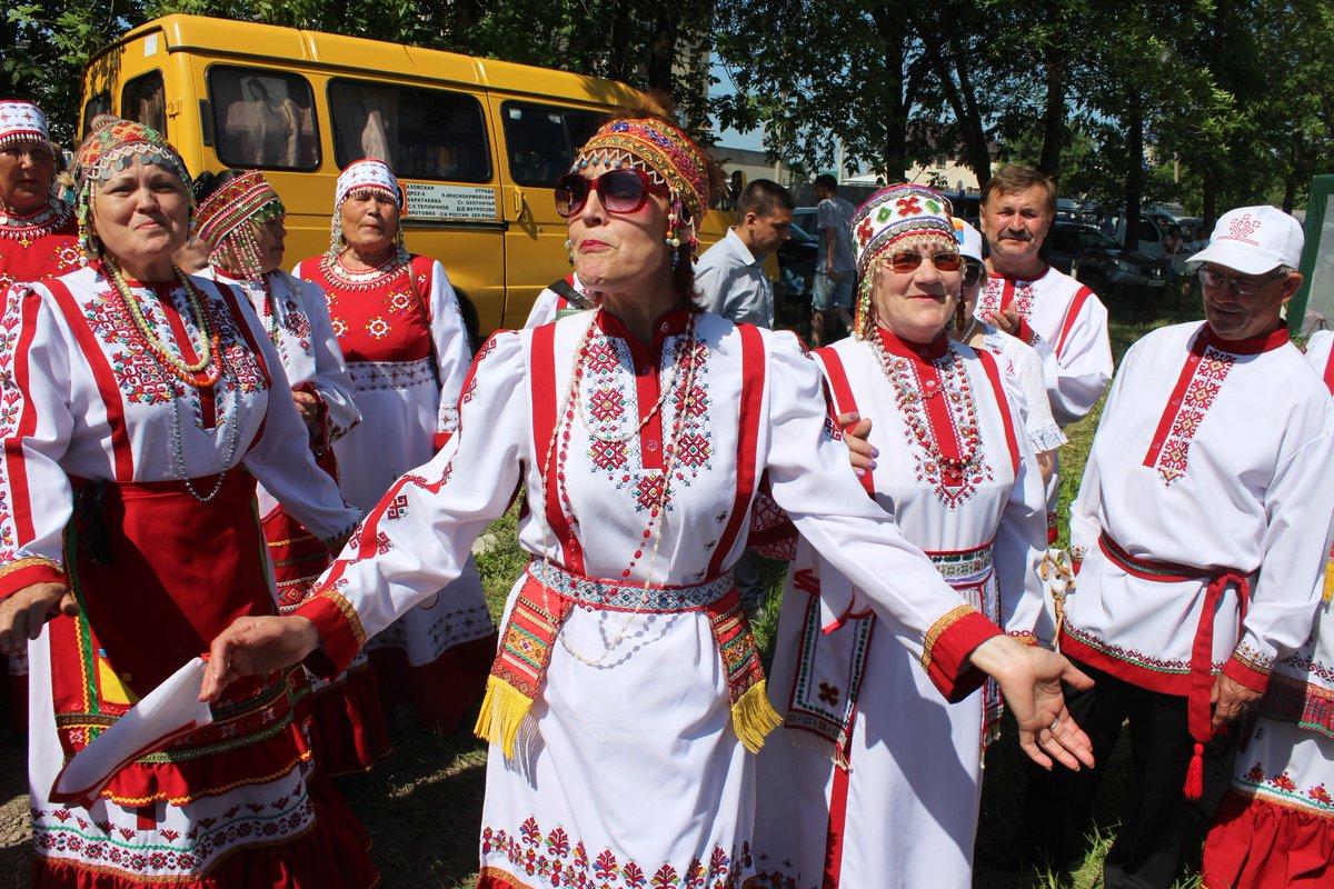 многие картинки чувашский праздник торт