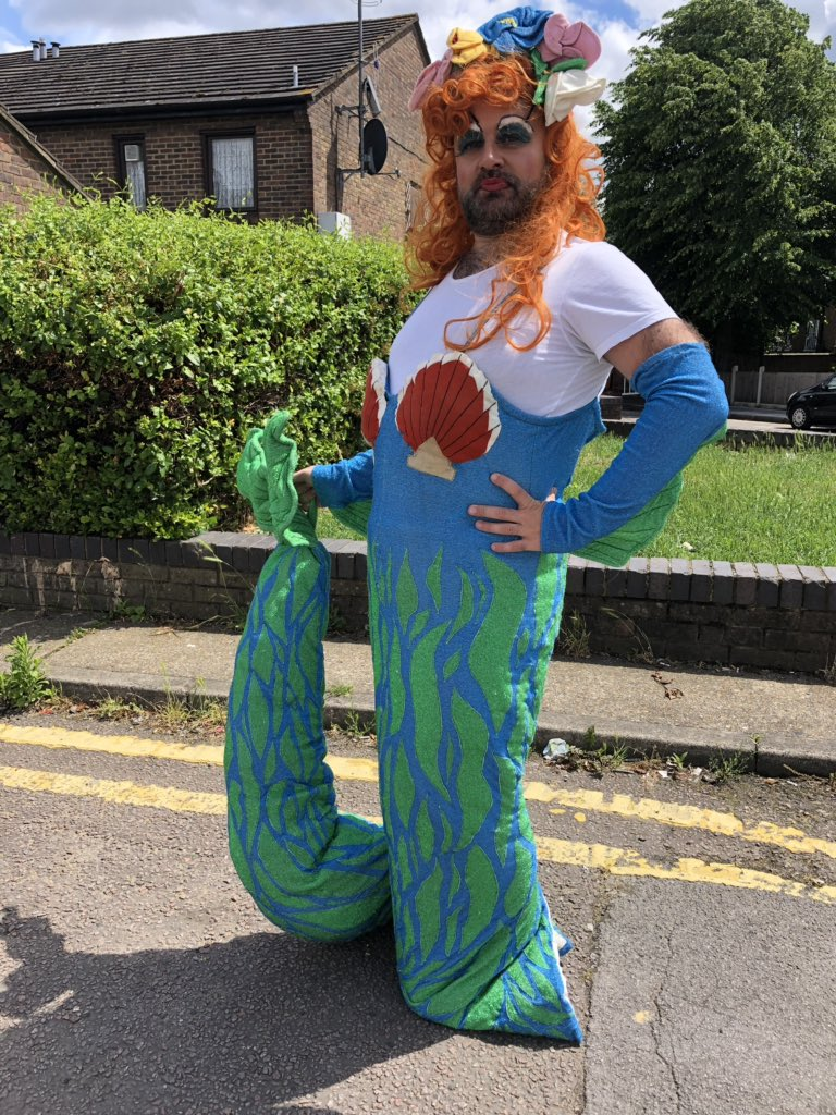 Today we bring to Archway The Little Mermaid for our interactive story telling with The Dame! #weknowhowtoparty