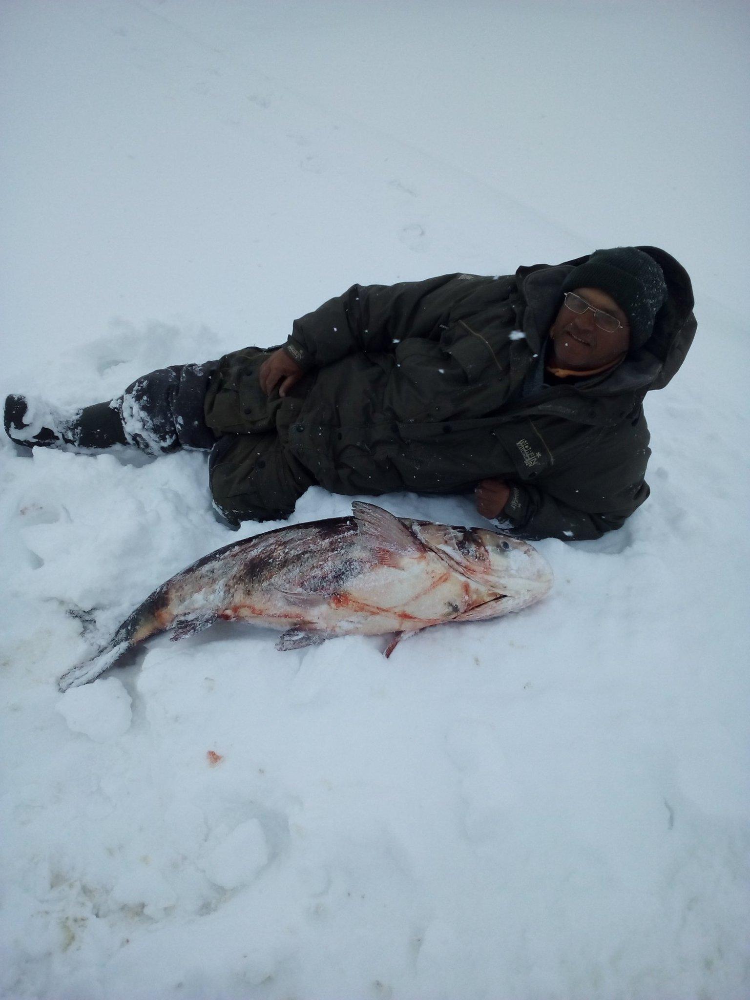 100 к 1 кто обожает зимнюю рыбалку
