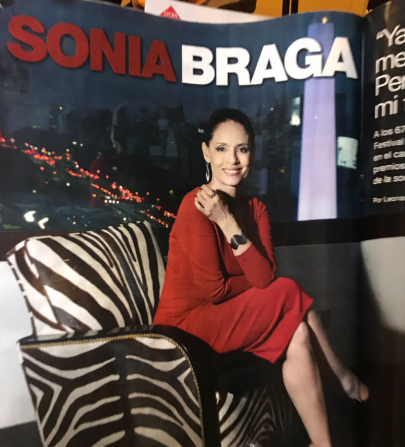 June, the 8th. Born on this day (1950) Brazilian actress SONIA BRAGA. Happy birthday!