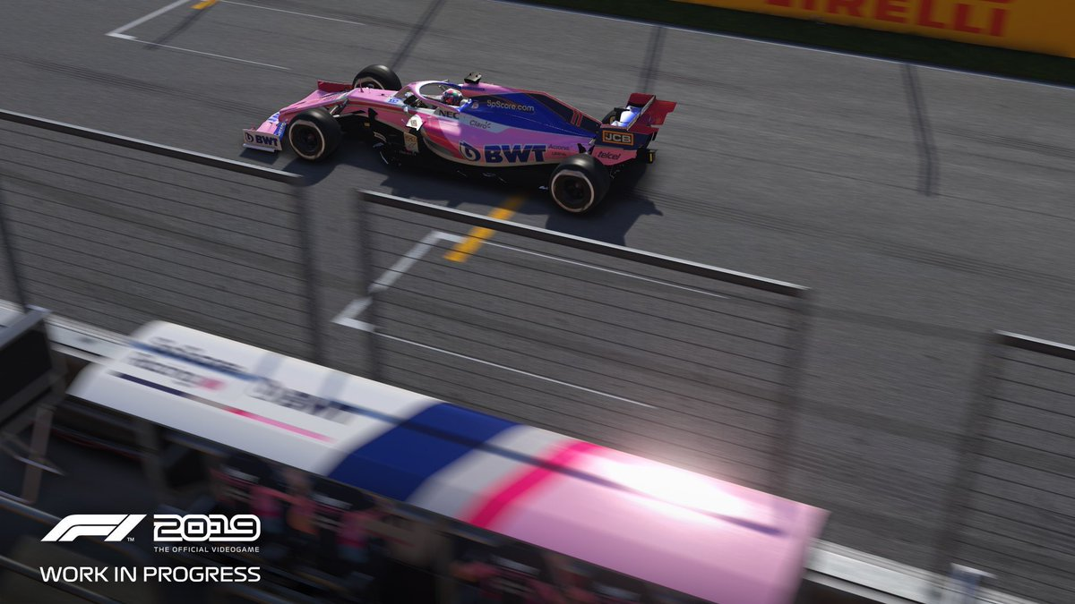 Is this the real life? Is this just fantasy? Caught in a landslide, no escape from @Formula1game insane graphics  Incredible screenshot from the game and a fast pink car (the best on the grid (not biased at all I swear))  I'm hyped for todays quali! Go @RacingPointF1 🙌🏻  #F1