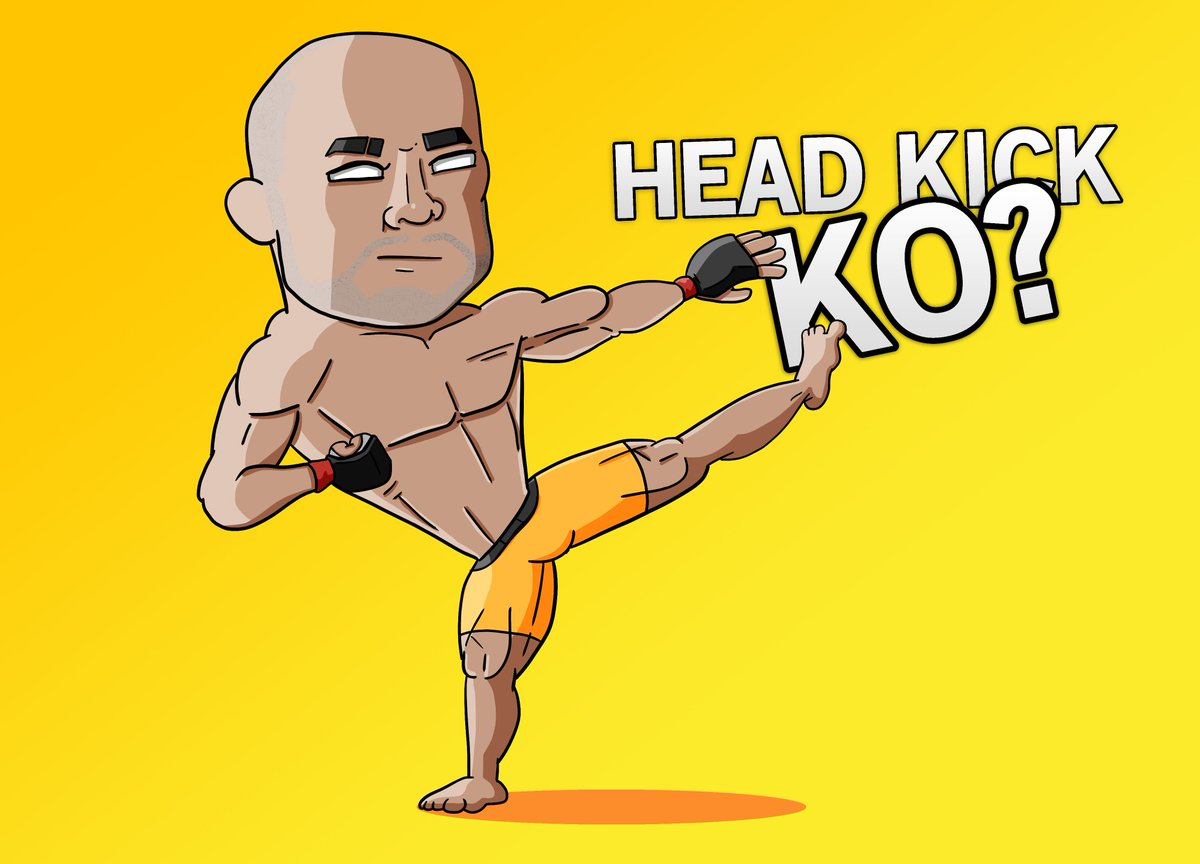 Will @MMARLONMORAES pull off his trademarked head kick in the fight tonight at #UFC238 ??